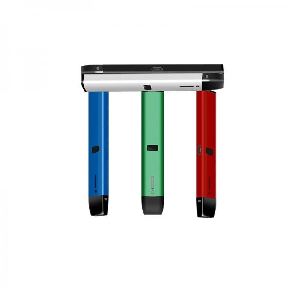 DiLoro Leather Zippered Vape Fountain Ballpoint Rollerball Pens and Pencils C...